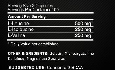 BCAA on 1000 caps как принимать