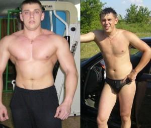 гейнер до и после фото