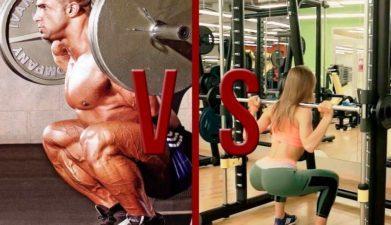 Тренажер или свободный вес